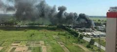 Масштабный пожар под Киевом: горели пилорама, ангары с растворителями и склады с мягкими игрушками