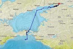 Украинский круизный лайнер вместо Одессы направился в Россию