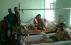 В Стаханове готовят больницы для раненых боевиков