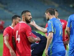 Сборная Украины проиграла аутсайдеру ФИФА