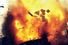 Теракт в Киеве: первые кадры