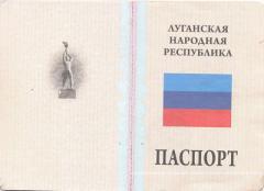 """В """"ЛНР"""" приводят в негодность украинские паспорта мирных жителей"""
