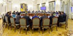 В СНБО одобрили концепцию реинтеграции Донбасса