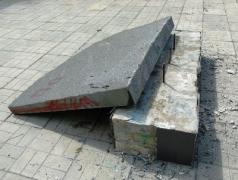 У Попасній невідомі підняли руку на пам'ятник бійцям АТО