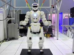 NASA продемонстрировало робота-марсонавта (ВИДЕО)