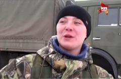 Закопайте ее где-нибудь: боевики отказались забирать труп своей снайперши. ВИДЕО