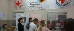 Ваучеры на еду и лекарства для переселенцев на Харьковщине