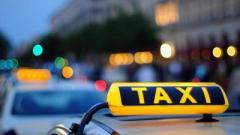 В Мариуполе объявлена охота на таксистов.ВИДЕО