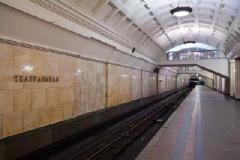 """В Киеве закрывали станцию метро """"Театральная"""" из-за звонка о минировании"""