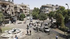 Трое смертников устроили кровавый теракт в Дамаске: десятки погибших