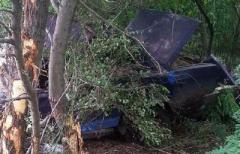 Под Мариуполем легковушка влетела в дерево: водитель в больнице, пассажир - погиб