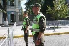 В центре Киева усилили меры безопасности на ближайшие два дня