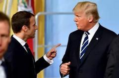 Макрон и Трамп сошлись во взглядах по «дорожной карте» для Сирии