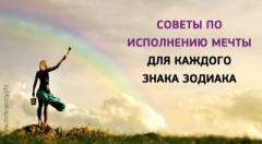 Советы по исполнению мечты для каждого знака Зодиака