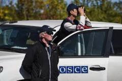 Боевики не пустили наблюдателей ОБСЕ к Светлодарску, напугав их заминированной дорогой