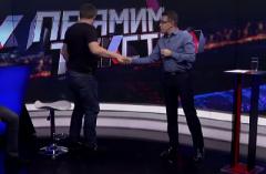 Ведущий выгнал гостя во время прямого эфира