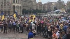 На Майдане состоялось вече в поддержку Саакашвили