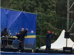 Группа «Грибы» дала бесплатный концерт в Святогорске