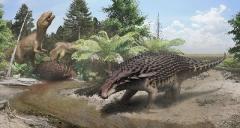 В Канаде нашли динозавра с защитным «камуфляжем»