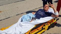Бійця, з тіла якого вилучили нерозірвану гранату, доправили до госпіталю в Одесі