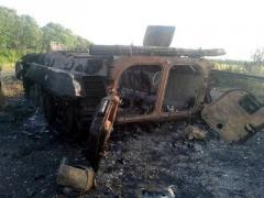 Наступил день Х: волонтер рассказал об уничтожении техники боевиков на Светлодарской дуге