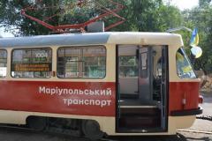 В Мариуполе вышли на линию старые новые трамваи с Wi-fi, GPS и камерой видеонаблюдения