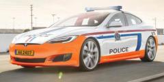 """Полиция Люксембурга """"вооружилась"""" электромобилями Tesla Model S"""