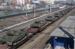 Россия перебрасывает военную технику в Беларусь