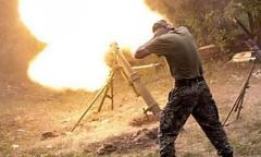 За сутки боевики 27 раза обстреляли позиции сил АТО на Донбассе