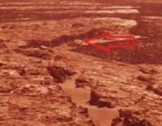На дне озера Марса уфологи обнаружили осколки НЛО