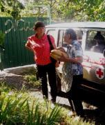 Офицеры CIMIC организовали медосмотр жителей прифронтовых сел