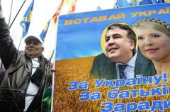 «Вставай Украина - 2»: Саакашвили повторяет сценарий 2013 года