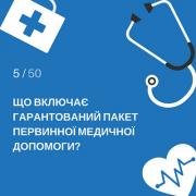 Стало известно, на какие бесплатные медуслуги могут рассчитывать украинцы