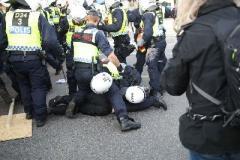 В Швеции прошел марш неонацистов, задержаны 60 человек