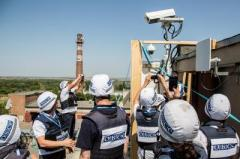 ОБСЕ обвинила боевиков ОРЛО в использовании лазеров (ВИДЕО)