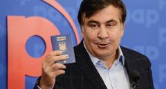 Знахідка місяця: виявляється, паспорт Саакашвілі весь час був при ньому