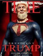 Син Трампа опублікував фото батька в образі бородатого Супермена
