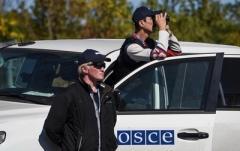 В Донецке открыли огонь по беспилотнику ОБСЕ