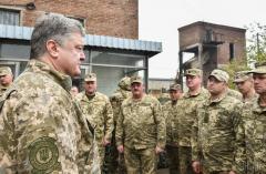 Президент Украины Пётр Порошенко: Авдеевка - символ мужества