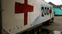 В ОБСЕ зафиксировали фургон для «груза 200», который выехал из Донбасса в Россию