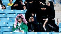В Саудовской Аравии женщинам разрешили ходить на стадионы