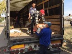 В Славянск привезли гуманитарную помощь от жителей Западной Украины