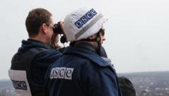 """Боевики чего-то испугались: группой террористов """"ЛНР"""" были задержаны наблюдатели ОБСЕ неподалеку от оккупированного Луганска"""