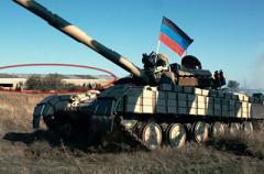 Боевики на Донбассе собрали танковый кулак