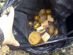 Взрывоопасный схрон нашли в зоне АТО