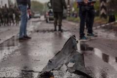 Последствия обстрела Донецка ужасны
