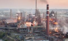 Вновь остановлен Донецкий металлургический завод