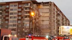 Обрушение дома в Ижевске: количество жертв возросло