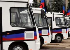 Горловские автобусы дождалиь ключей