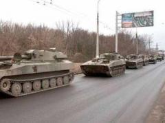 Оккупанты Донбасса перегоняют смертоносные колонны
